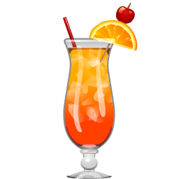 Tequila sunrise png. Cocktail recipe party