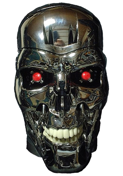 Terminator face png. Transparent file web icons