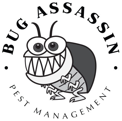 Roach drawing line. Residential pest control company