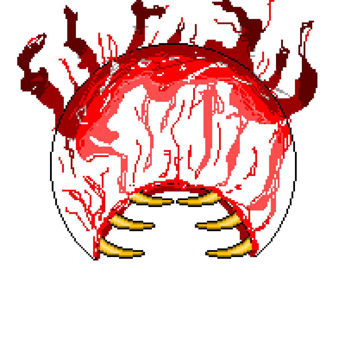 Terraria eye of cthulhu png. Pixilart the by dude