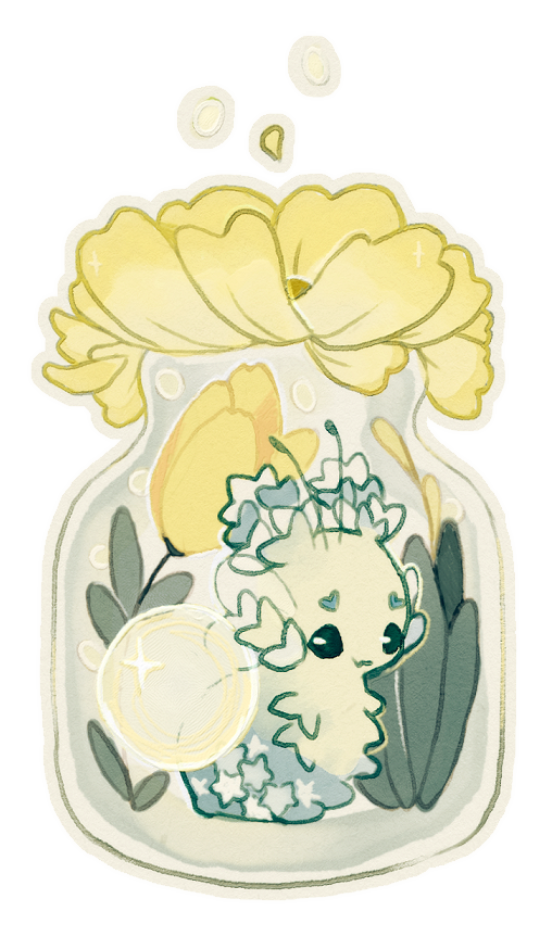 Custom ych auction closed. Terrarium drawing small picture freeuse stock