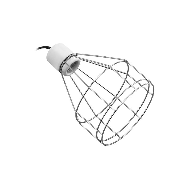 Terrarium drawing small. Support pour lampe exo