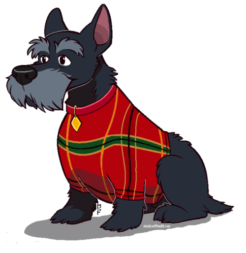 Terrier drawing scottish. Lady tumblr got the