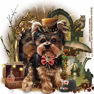 Terrier drawing teacup yorkie. Carmen designs steampunk ct