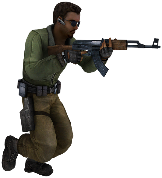 Terrorist png. Image counter strike source