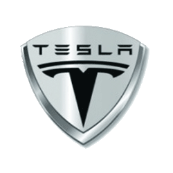 Logos and company worldwide. Tesla vector car clipart black and white