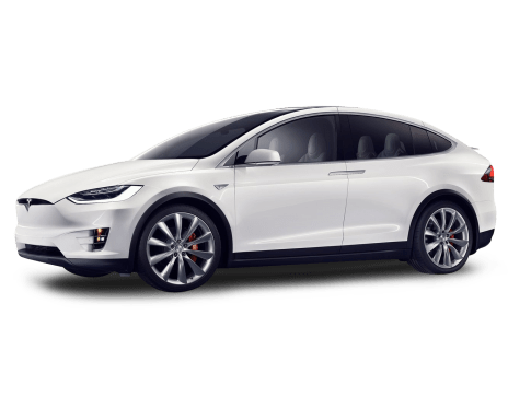 Tesla transparent 90d white. Model x price specs