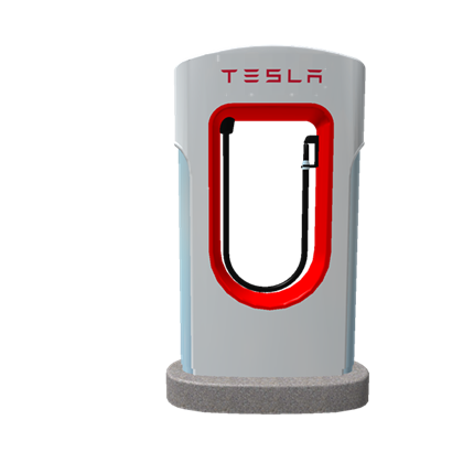 Tesla supercharger png. Roblox