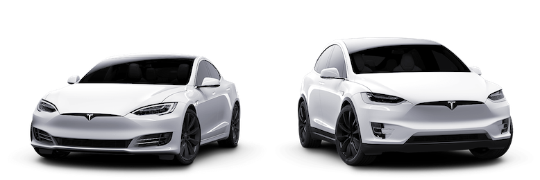 Tesla transparent 90d white. Whitecar share rent out