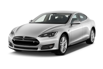 Tesla transparent 90d white. Model s overview