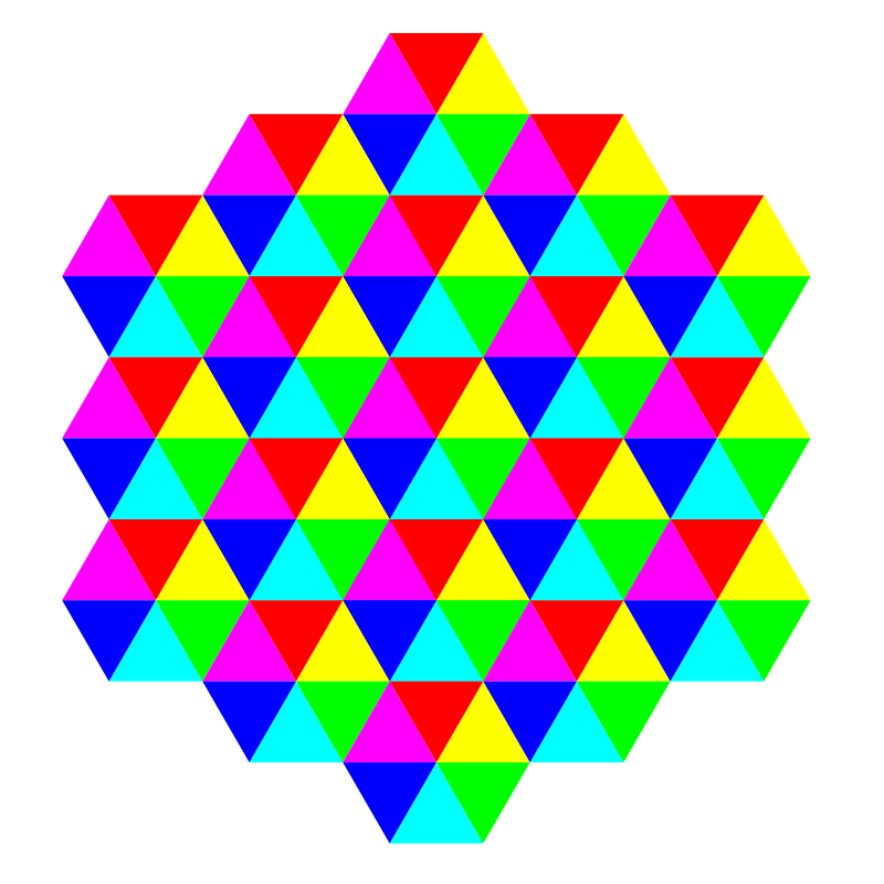 Tesselations. Free clipart triangle tessellation