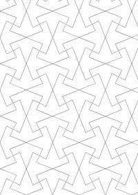 Tessellation drawing hand drawn. Tessellations by recognizable figures
