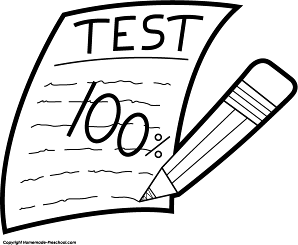 Test clipart school test. The failure of infinite