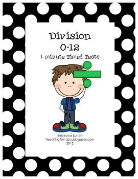 Test clipart timed test. Fact fluency division math