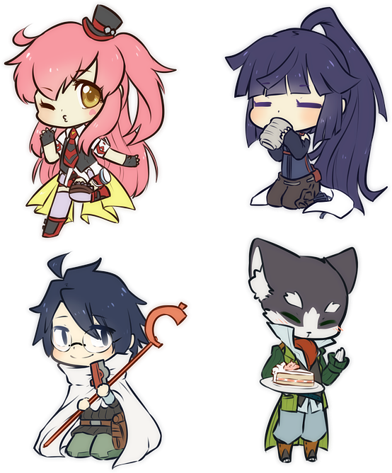Akatsuki drawing chibi. Log horizon by mousu