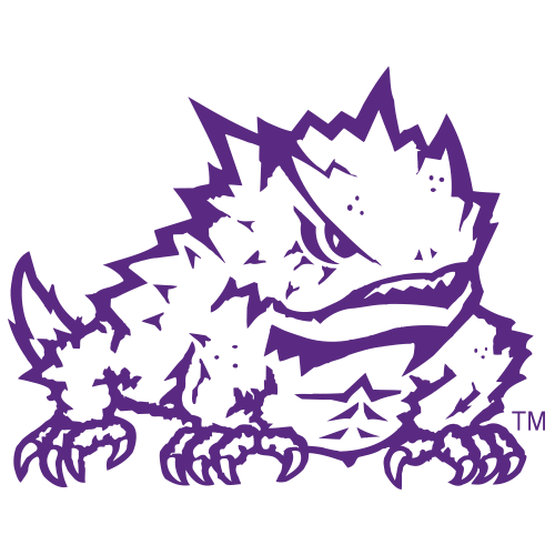 Texas christian university logo png. Horned frogs frog fanapeel