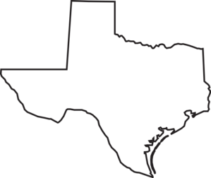 White texas png. Free outline cliparts download