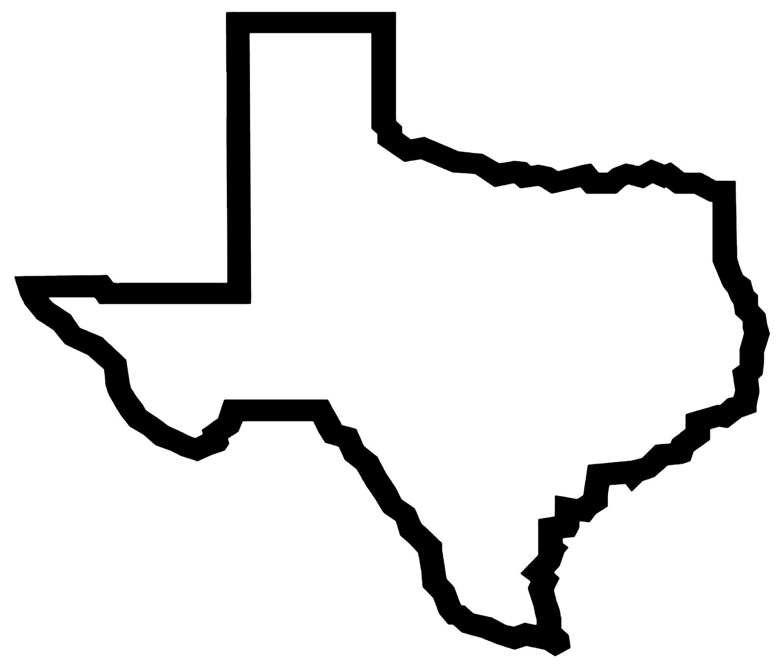 Texas clipart. Outline free images wildcard