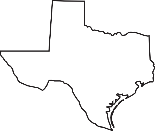 Texas state outline png. Free download clip art