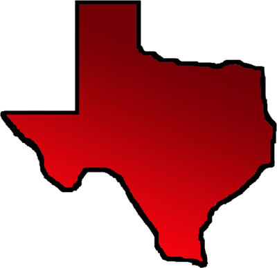 Texas map outline png
