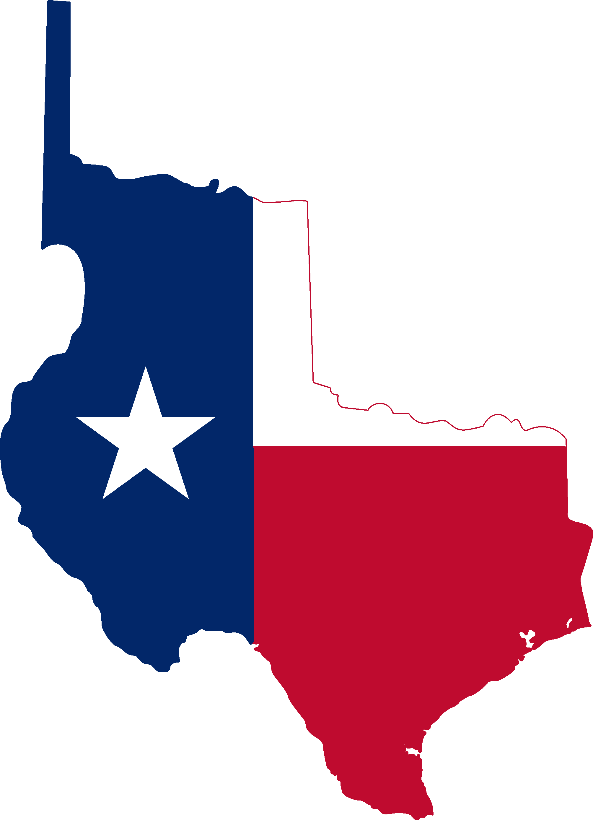 Texas state outline png. File flag map of