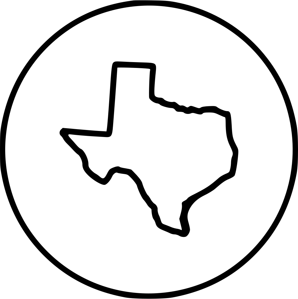 White texas png. Svg icon free download