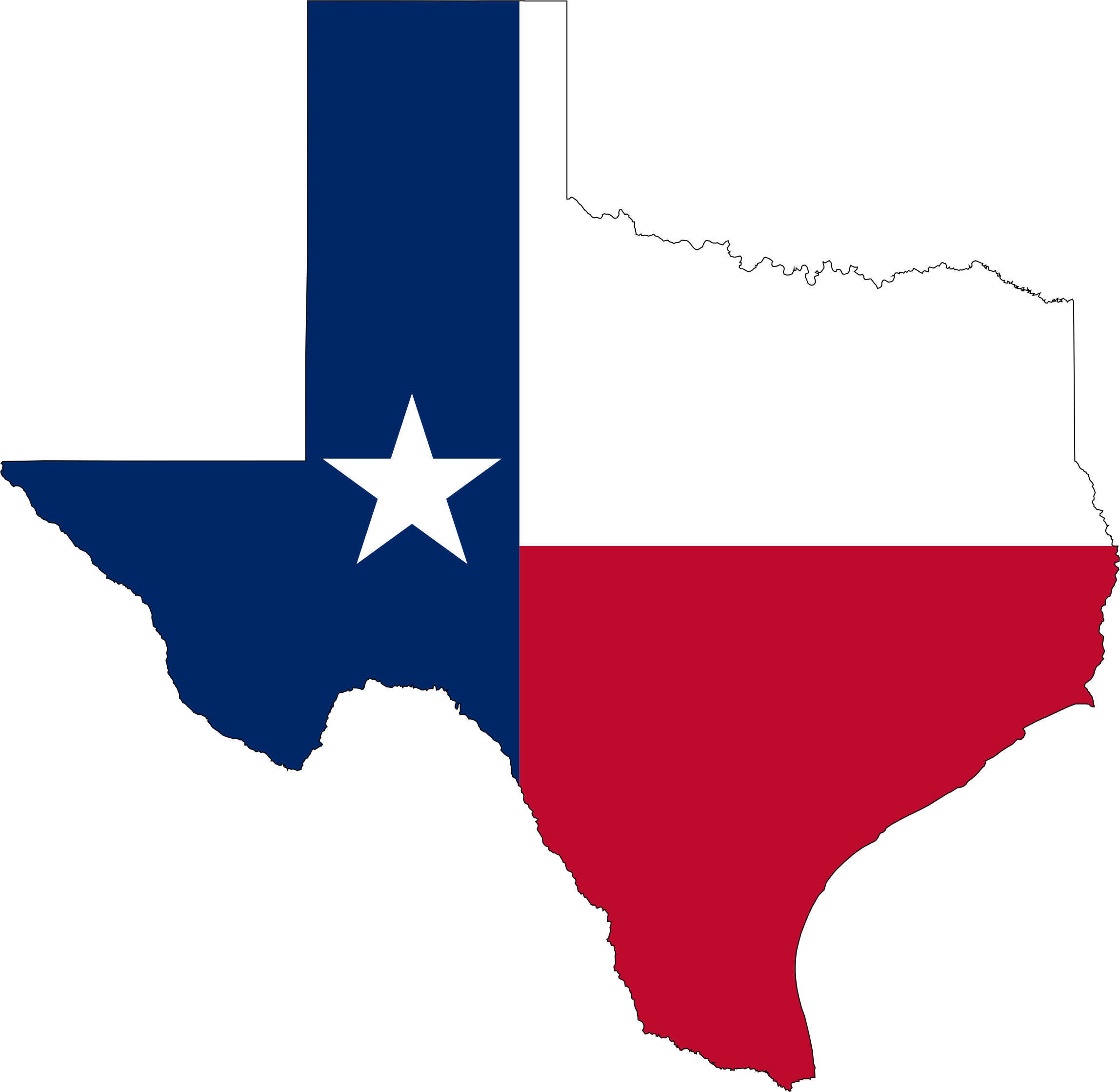 Texas state png. Flag map icons free