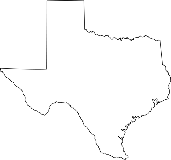 Png state of texas. Collection outline drawing
