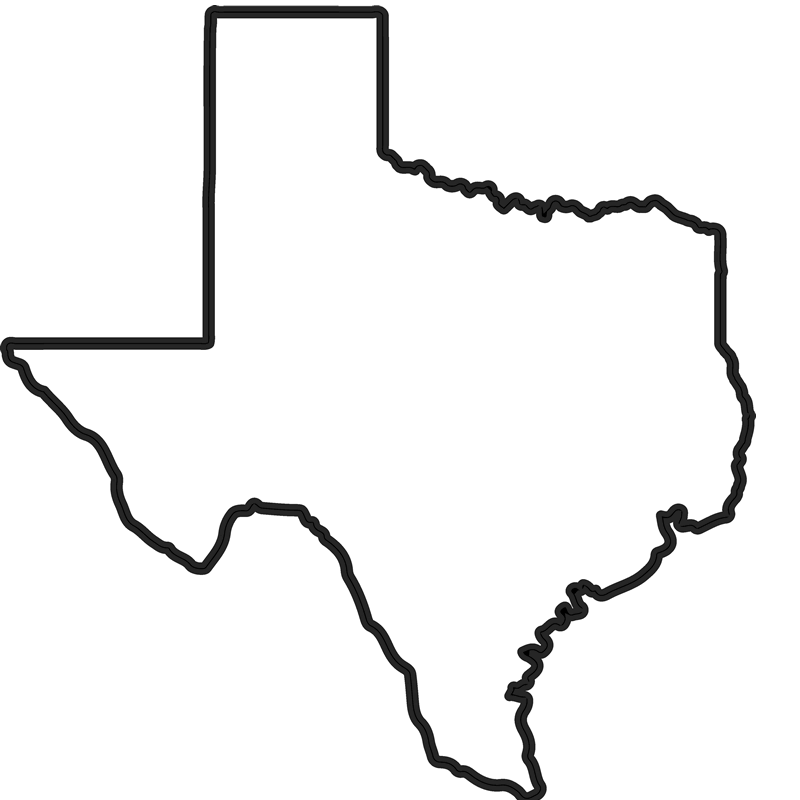 Texas outline png. Rubber stamp state stamps