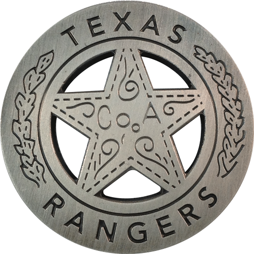 Texas ranger badge png. Ball marker hat clip