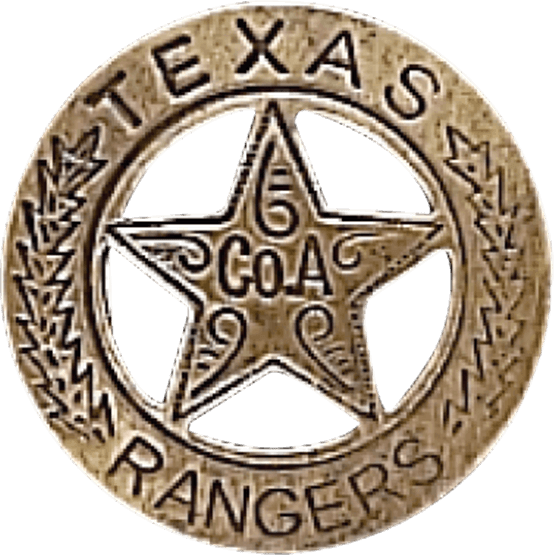 Texas ranger badge png. Brass oh from dark