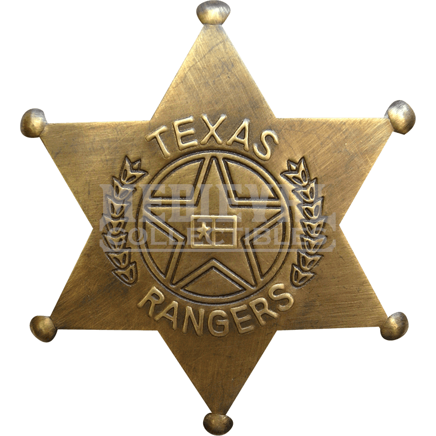 Texas ranger badge png. Brass rangers oh by