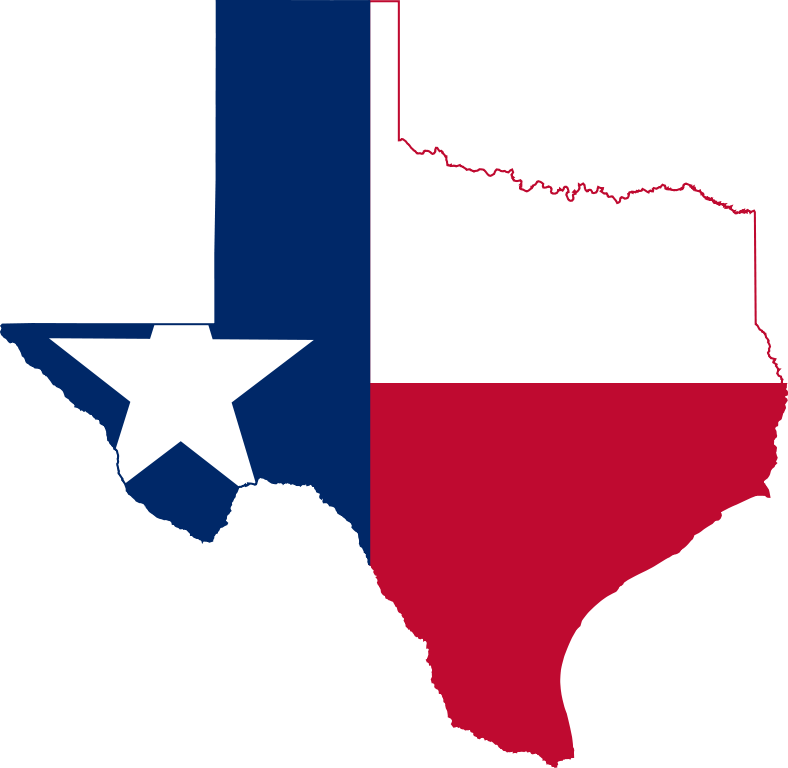 Texas state flag png. File map of svg