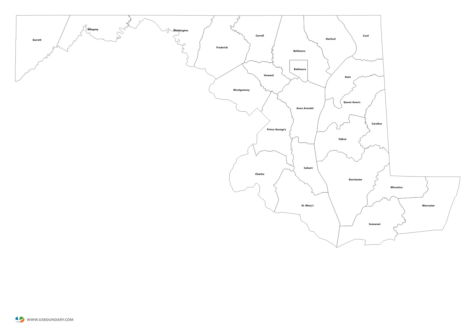 Texas state outline png. Counties maps download maryland