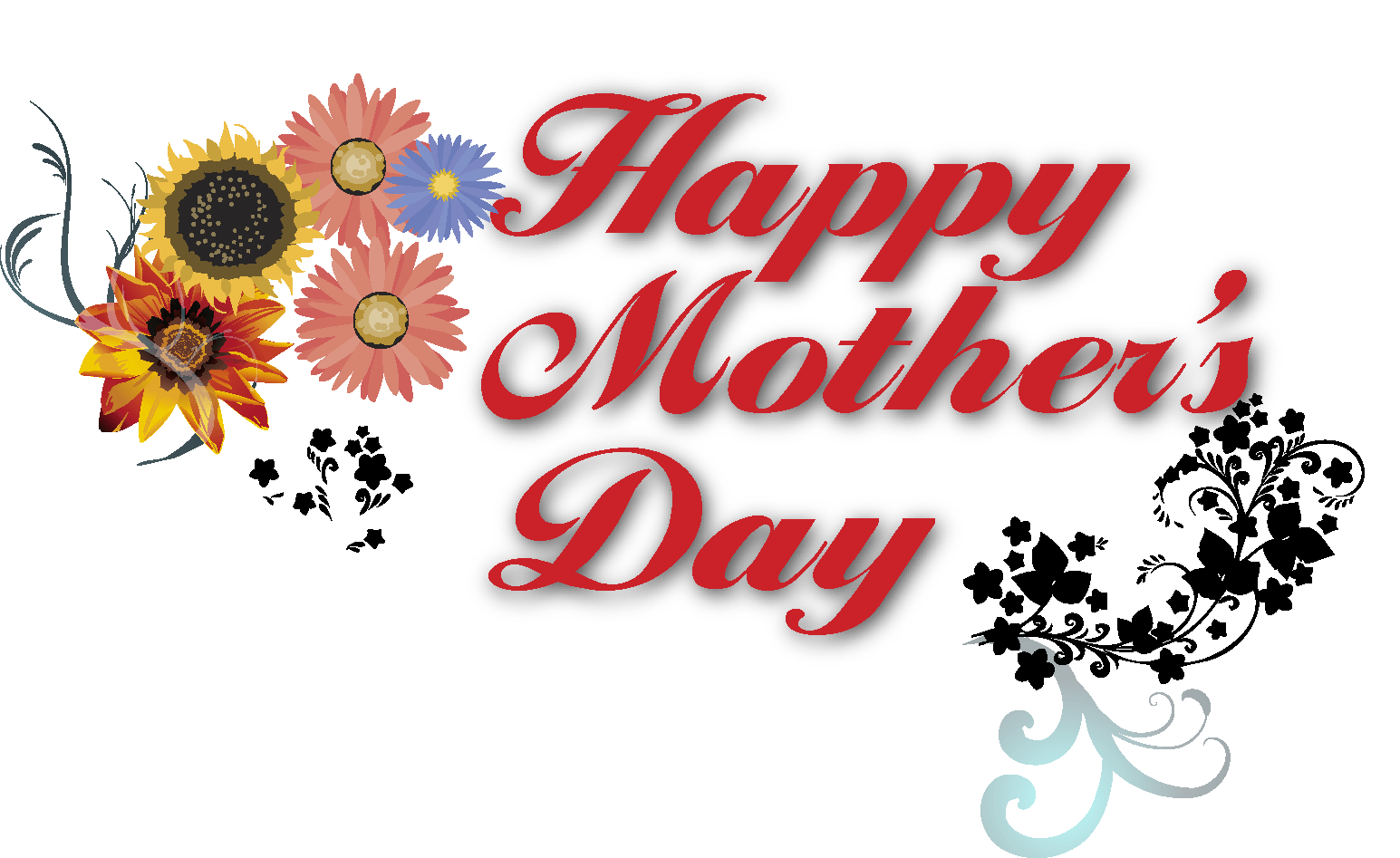 Happy mothers day logo png