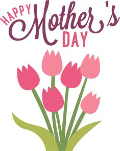 text clipart happy mothers day