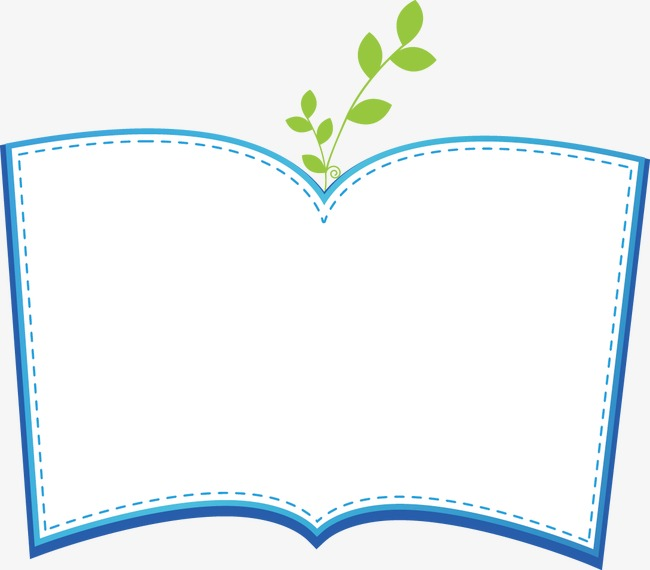 Text clipart opened book. Open box blue png