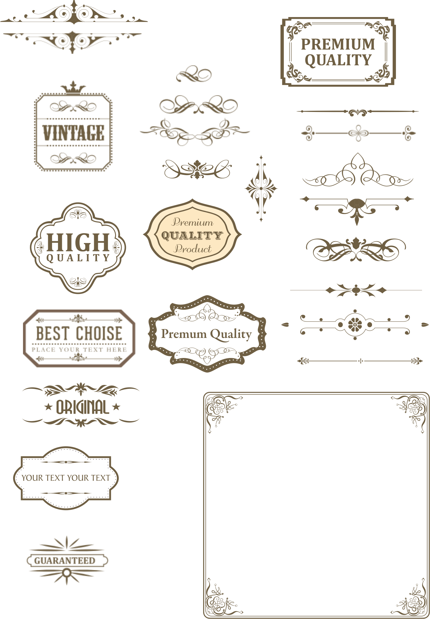 Text clipart text box. Vintage and dividers big
