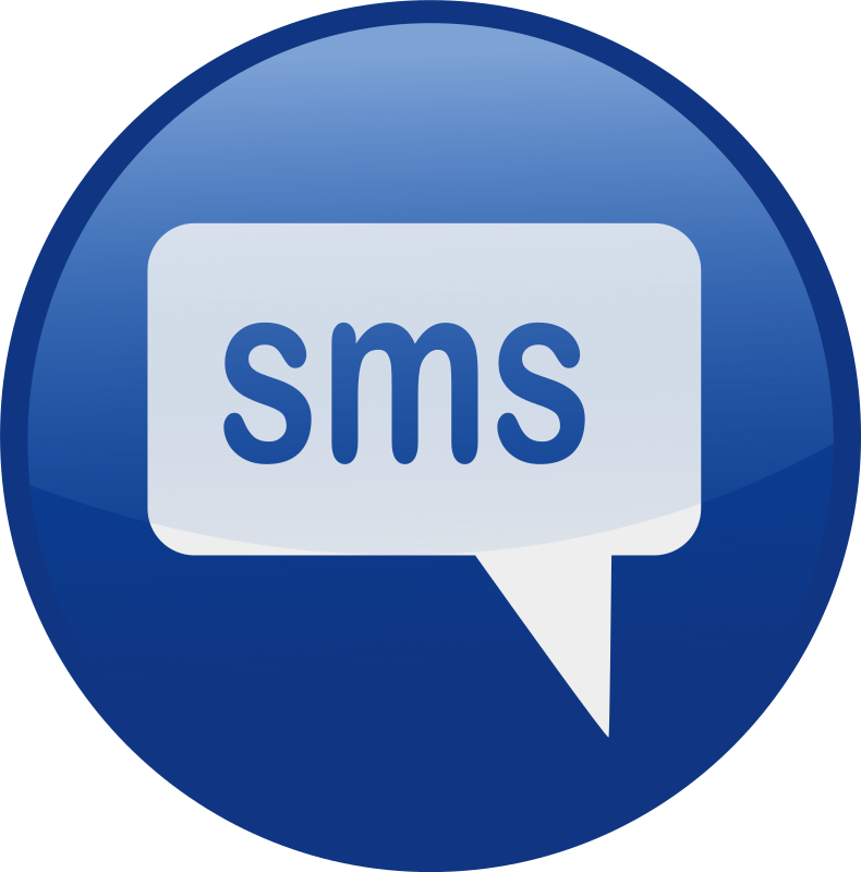 Text clipart text message icon. Sms messages animated