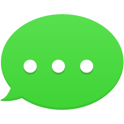 Text message png. Icon flatastic iconset custom