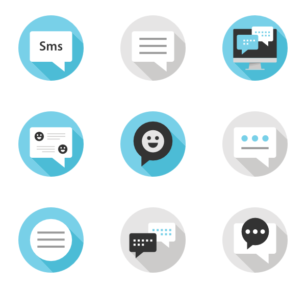 Text message png. Messaging free icons svg