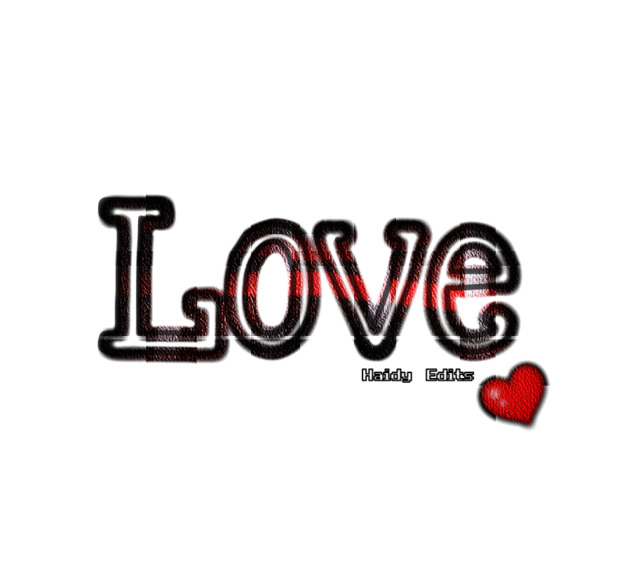 Text png image. Love by haidymaher on