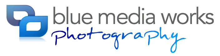 Photography png text. Full logo bmw blue