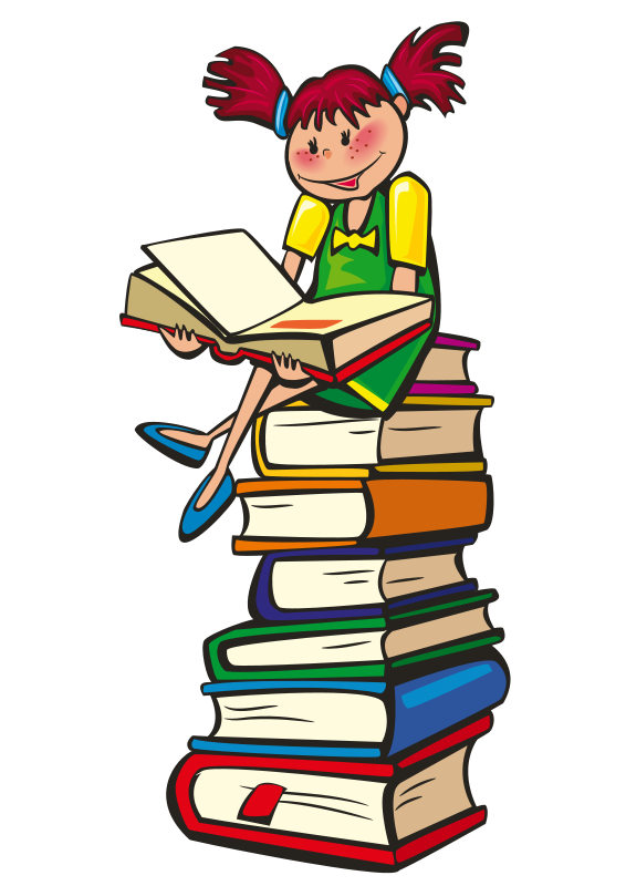 School book panda free. Reading clipart png library library