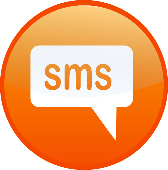 Texting clipart sms logo. Text clip art at