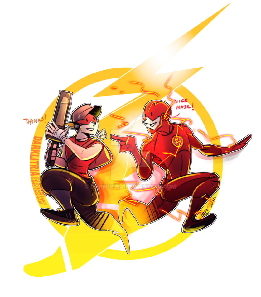 Flash png lol. Tf scout barry by