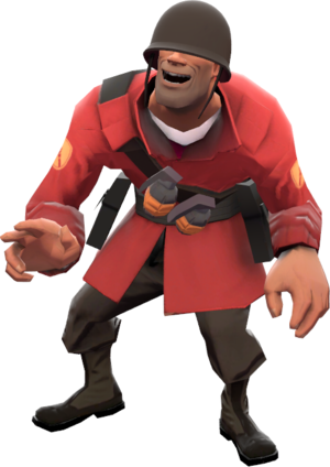Tf2 transparent solider. List of references soldier
