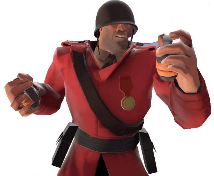 Tf2 soldier png. User light kill official