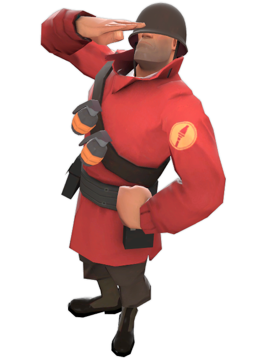 Tf2 soldier png. Team fortress heroes wiki