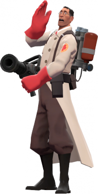 tf2 transparent medic call